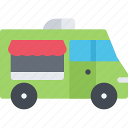 delivery, food, shipping, transport, transportation, truck icon