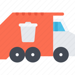 delivery, garbage, shipping, transport, transportation, truck icon
