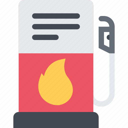 delivery, gas, shipping, station, transport, transportation icon