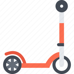 delivery, kick, scooter, shipping, transport, transportation icon