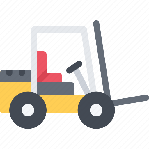 delivery, lifttruck, shipping, transport, transportation icon