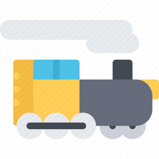 delivery, locomotive, shipping, transport, transportation icon