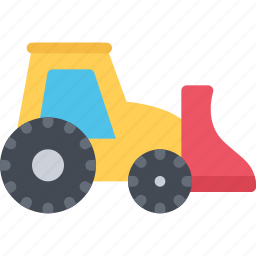 delivery, loader, mini, shipping, transport, transportation icon