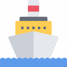 delivery, motor, ship, shipping, transport, transportation icon