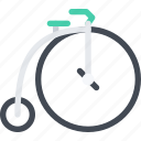 bike, delivery, retro, shipping, transport, transportation icon