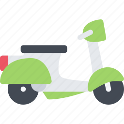 delivery, scooter, shipping, transport, transportation icon