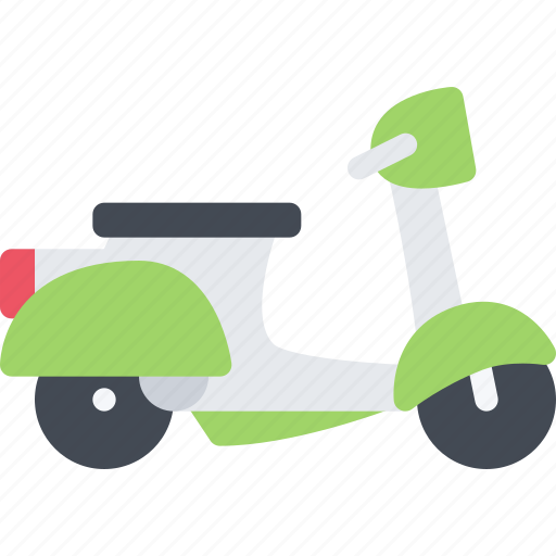 Delivery, scooter, shipping, transport, transportation icon - Download on Iconfinder