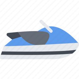 delivery, scooter, shipping, transport, transportation, water icon