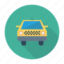 taxi, auto, travel, yellow, vehicle, cab, transport