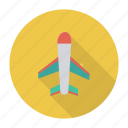 aeroplane, air, boeing, flight, fly, plane, travel icon