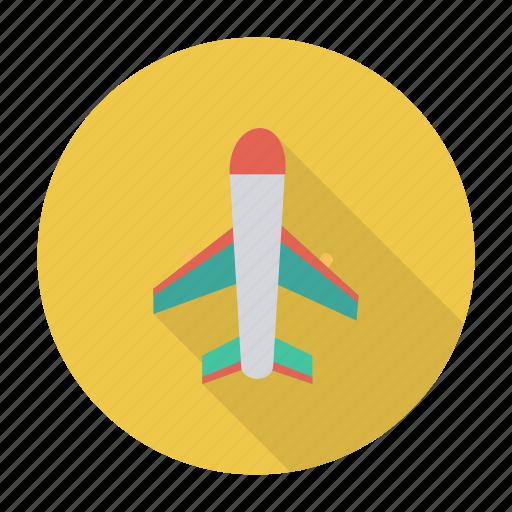 aeroplane, air, boeing, flight, fly, plane, travel icon