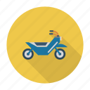 bike, cycle, motor, old, transport, transportation, travel icon