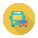 auto, bus, car, transport, transportation, travel, vehicle icon