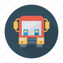 auto, bus, school, transport, transportation, travel, vehicle icon