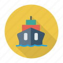auto, cargo, ship, transport, transportation, travel, vehicle icon