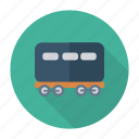 auto, bogie, train, transport, transportation, travel, vehicle icon