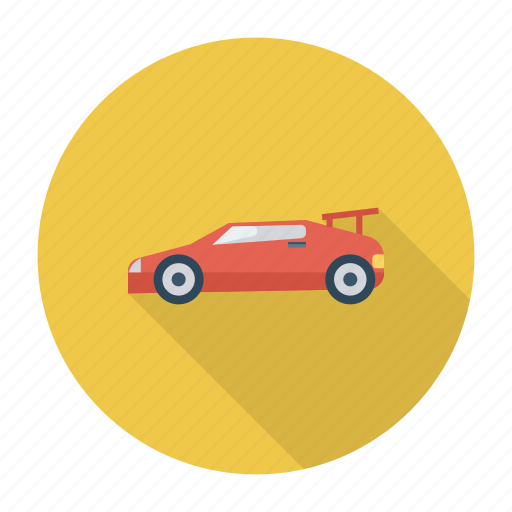 auto, car, racing, sports, transport, travel, vehicle icon