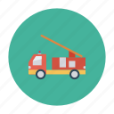 auto, brigade, fire, transport, transportation, travel, vehicle icon