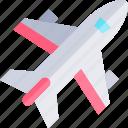 airplane, transport, transportation, vehicle icon