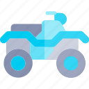 atv, transport, transportation, vehicle icon