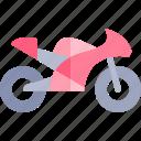 motobike, transport, transportation, vehicle icon