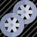 transport, transportation, vehicle, wheels icon