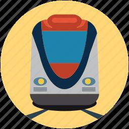 metro train, subway, subway train, train, transport, travel icon