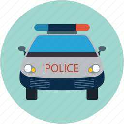 car, police, police car, security, security car, vehicle icon
