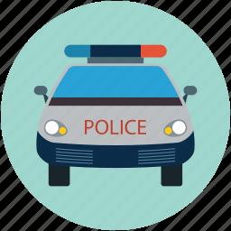 car, police, police car, security, security car, vehicle icon
