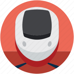 aerotrain, bullet train, high speed train, solar train, winged train icon