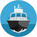 cruise, luxury, luxury ship, ship, watercraft, yacht icon