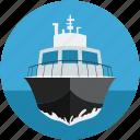 cruise, luxury, luxury ship, ship, watercraft, yacht icon