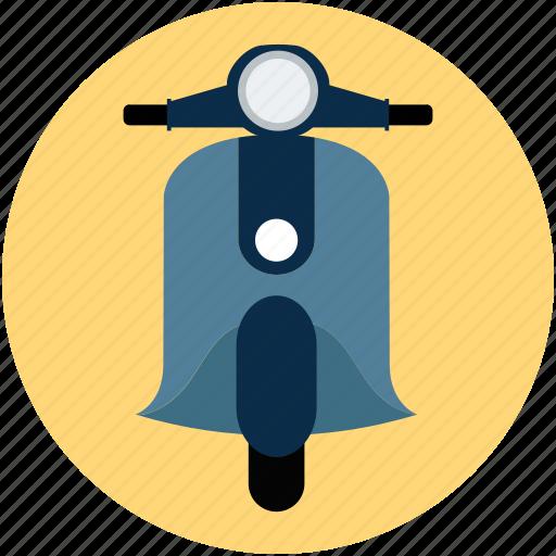 bike, scooter, transport, vespa icon