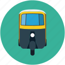 auto, rickshaw, transport, travel, tuk tuk icon