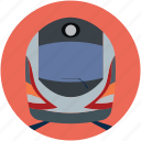 metro train, subway, subway train, train, transport, travel icon