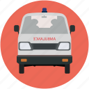 ambulance, rescue, transport, van, vehicle, wagon icon