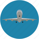airbus, airliner, airplane, flying vehicle, jet, plane icon