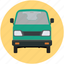 carriage, mini pickup, pickup, pickup truck, transport, van, vehicle, wagon icon