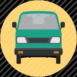 carriage, mini pickup, pickup, pickup truck, transport, van, vehicle, wagon icon