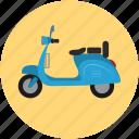 vespa, motorscooter, scooter, travel