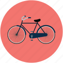 bicycle, bike, cycle, riding, transport, travel icon