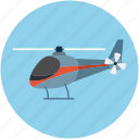 aircraft, chopper, emergency, flight, helicopter, transport icon