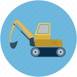 construction, crane, machine, vehicle, work icon