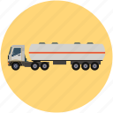 delivery transport, fuel, oil, tanker, transport, water icon