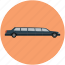 car, limousine, long car, luxury car, transport, vehicle icon