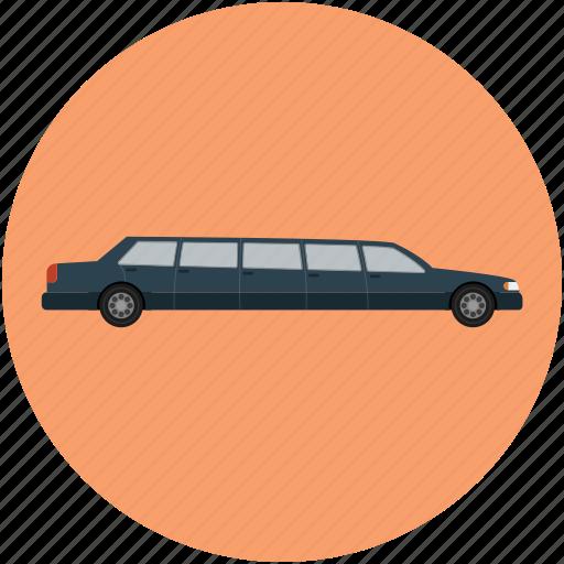 car, limousine, long car, luxury car, transport, vehicle icon
