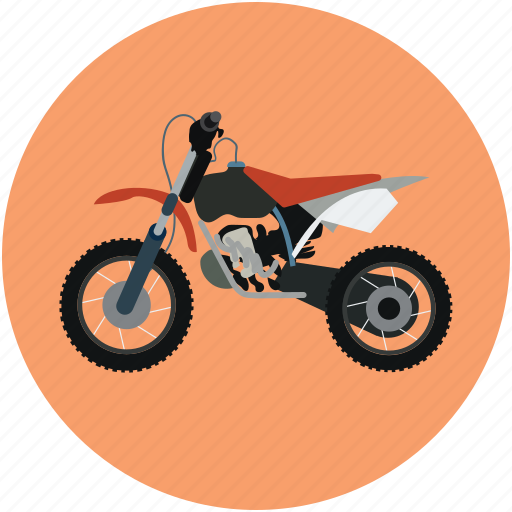 motorbike, motorcycle, scooter, transport, travel icon
