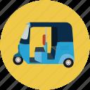 auto, travel, rickshaw, transport