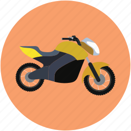 heavy bike, motor bike, motorbike, speed bike, transport icon