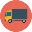 delivery, lorry, transport, truck, wagon